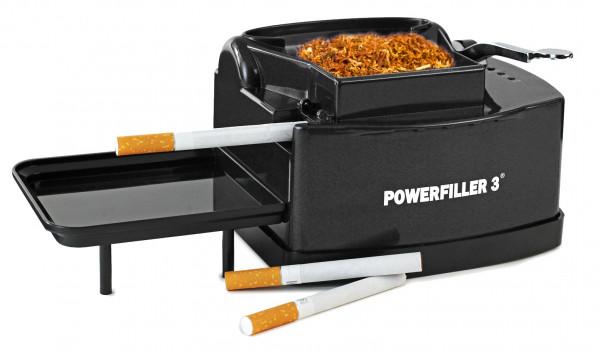 Powerfiller Elektrische Stopfmaschine PF3-S Schwarz