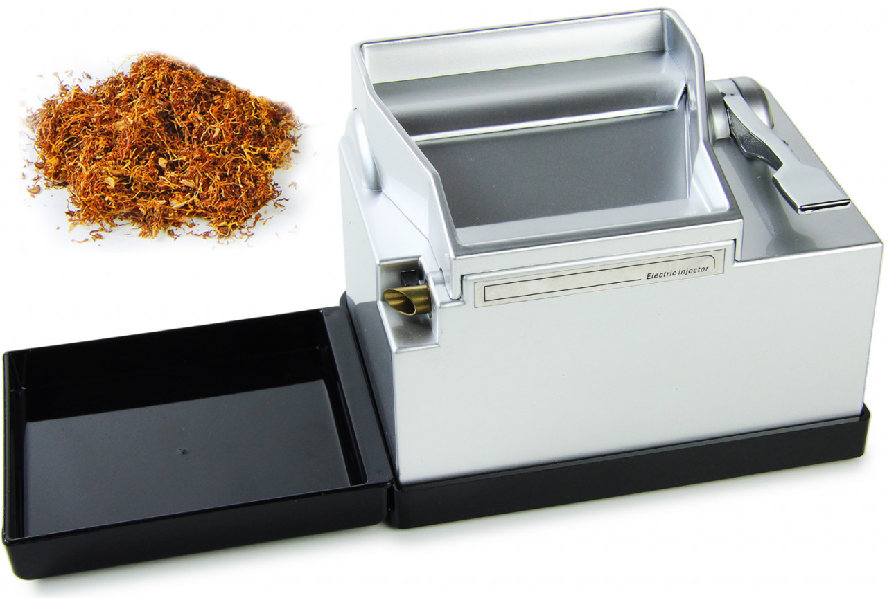 Powermatic 2 - elektrische Stopfmaschine - Farbe: silber