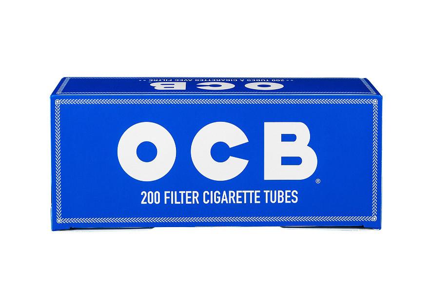 OCB Zigarettenhülsen 200 Stück XL Pack